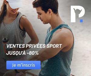 Site de Ventes Privées dédiées aux Sports