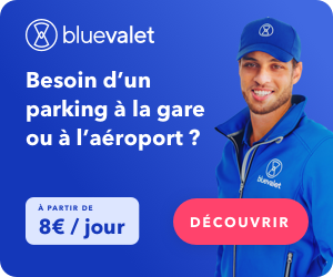 Promo parking Blue Valet