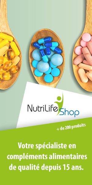 Compléments alimentaires à prix réduits chez NutriLife Shop, partenaire de runagora