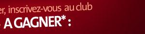 inscrivez-vous au club Carte noire, A GAGNER* :