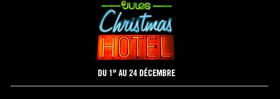 Christmas Hotel, du 1er au 24 Décembre